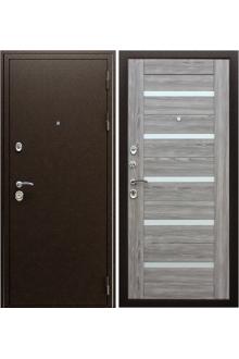 Входная металлическая  дверь Маэстро 7Х «Серое дерево»