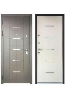 Входная  металлическая дверь Персона Технолюкс Белый Ясень