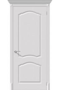 Межкомнатная окрашенная дверь Танго пг белый