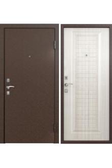 Входная металлическая дверь Бульдорс -10С скин СК-3 Лиственница белая