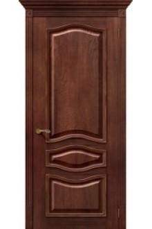 Межкомнатная шпонированная дверь Леона ПГ Голд