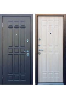 Входная металлическая дверь Персона Техно 3 венге/беленый венге