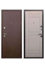 Входная металлическая дверь Снедо  Трое РФ 3К - Беленый Дуб