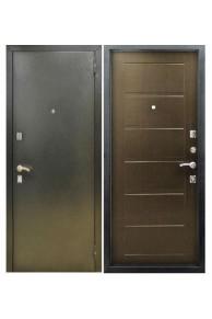 Входная металлическая дверь Снедо Сити цвет венге