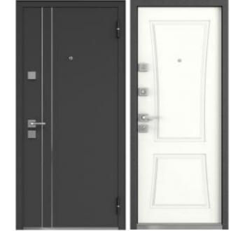 Входная металлическая дверь Мастино Терра Софт Белый