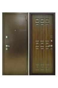 Входная металлическая дверь Снедо Кантри дуб коньяк