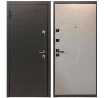 Входная металлическая дверь Мастино МОНТЕ Софт Графит