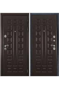Входная металлическая дверь ZMD Премиум 183 Венге-Венге