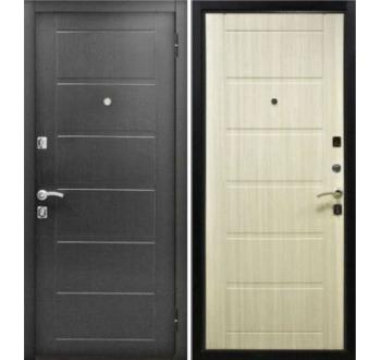 Входная металлическая дверь ZMD Стайл Венге-Сандал белый