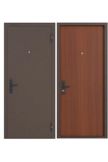 Входная металлическая дверь Бульдорс 1 Лесной орех