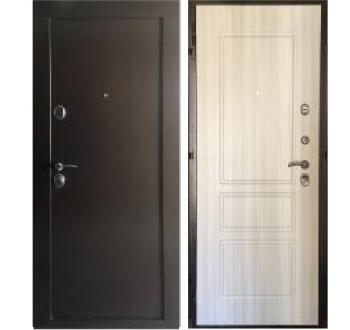 Входная металлическая дверь ЗЕЛАР ЕВРО СИСТЕМА, Сосна белая (внутреннего открывания)