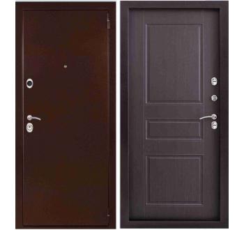 Входная металлическая дверь ЭТАЛОН Венге