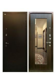 Входная металлическая дверь Ратибор Милан с зеркалом (Эко Венге)