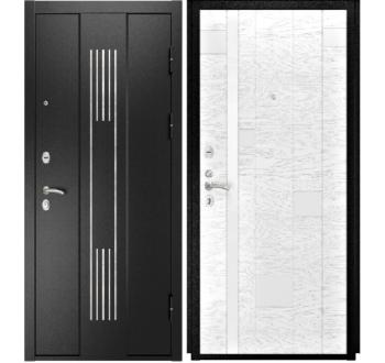 Входная металлическая дверь Luxor-28 АРТ-1(ясень белая эмаль)