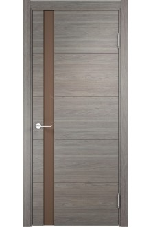 Межкомнатная дверь экошпон Турин 03( дуб шервуд вералинга)
