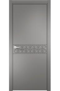 Межкомнатная дверь эмалит Севилья 08 (софт графит)