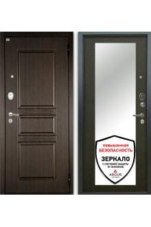 Входная металлическая Сейф-дверь Аргус Люкс АС 2П Сабина Венге/Милли венге тисненый
