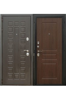 Входная металлическая дверь Сталь ПП 105 Сенатор Вена