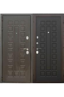 Входная металлическая дверь Сталь ПП 105 Сенатор венге