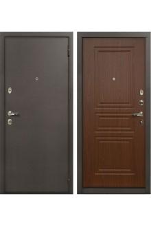Входная металлическая дверь Лекс 1А Верона-Береза мореная