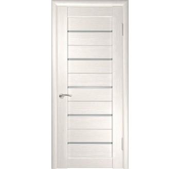Межкомнатная дверь  экошпон ЛУ-22 (Беленый дуб)