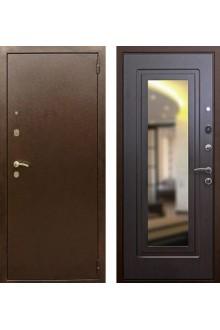 """Входная  металлическая дверь Rex 1А с зеркалом """"Венге"""""""
