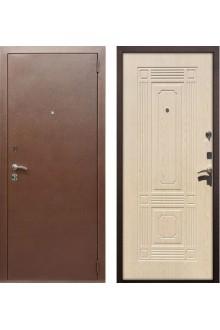 """Входная металлическая дверь Rex 1 """"Беленый дуб"""""""