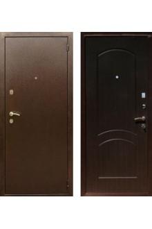 """Входная металлическая дверь Rex 1А Хром """"Венге"""""""