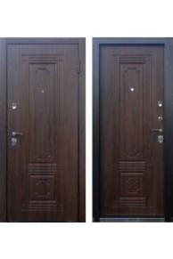 Входная металлическая дверь Персона ТЕХНО 3 грецкий орех