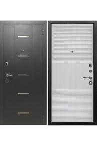 Входная металлическая дверь Снедо  Модерн-лиственница беленая