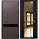 Входная металлическая дверь ЗЕТТА Премьер100 К2 венге таббако- венге зеркало