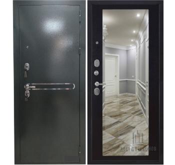 Входная металлическая дверь Президент S1Z зеркало венге