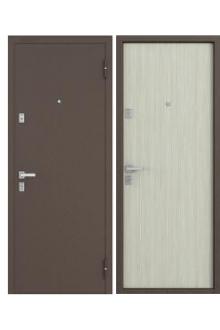 Входная металлическая дверь Бульдорс 1 2 NEW дуб беленый