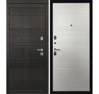 Входная металлическая дверь Министр Шоколад -Кантри горизонт