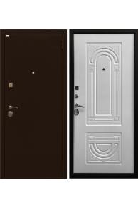 Входная металлическая дверь Ратибор Оптима 3К Матовый Белый