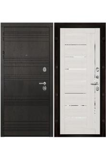 Входная металлическая дверь Министр Шоколад -Капучино-велюр