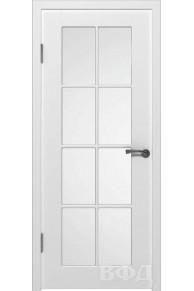 Межкомнатная дверь Порта эмаль стекло
