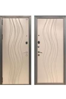 Входная металлическая Зетта Экстра 3 Д-1 БРИЗ Софт графит рис. F212 / Софт грей рис. F212