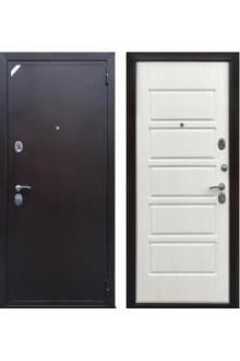 Входная металлическая дверь Персона ЕВРО ДОМИНО светлый венге