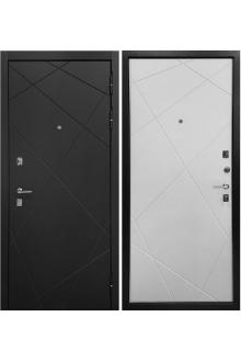 Входная металлическая дверь  Ратибор Мегаполис 3К White