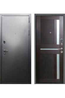 """Входная металлическая дверь Rex Титан СБ-18 """"Орех темный рифленый"""""""