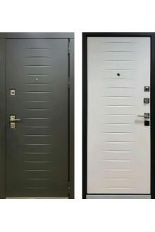 """Входная металлическая дверь Персона Гранд 2 """"Черный софт / Белый софт"""""""