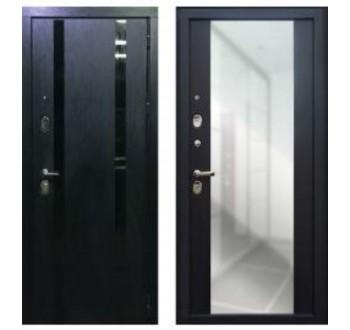 Входная металлическая дверь  ПЕРСОНА ГРАНД-1 Зеркало венге
