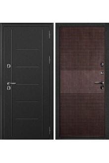 Входная металлическая дверь с терморазрывом Дверной Континент Термаль венге