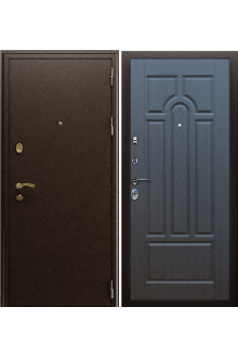 """Входная  металлическая дверь АСД """"Прометей"""" венге"""