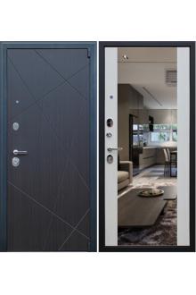 Входная  металлическая дверь «Вектор с зеркалом»
