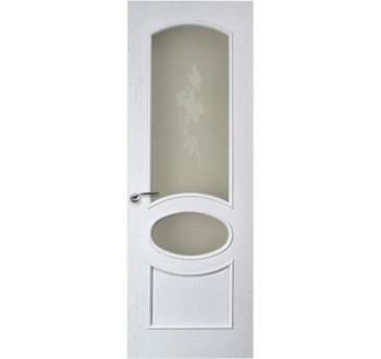 Межкомнатная дверь Грация белая эмаль