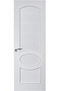Межкомнатная дверь Грация  глухая дуб белая эмаль