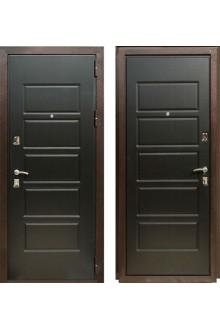 Входная металлическая дверь Зетта Экстра 3 Венге темный