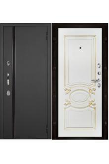 Входная металлическая дверь с терморазрывом Норд (муар искра) Аристократ.
